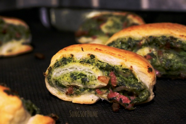 healthy lunchbox pea pastry