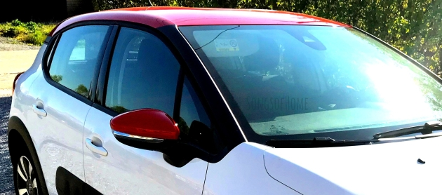 Citroën C3 white red