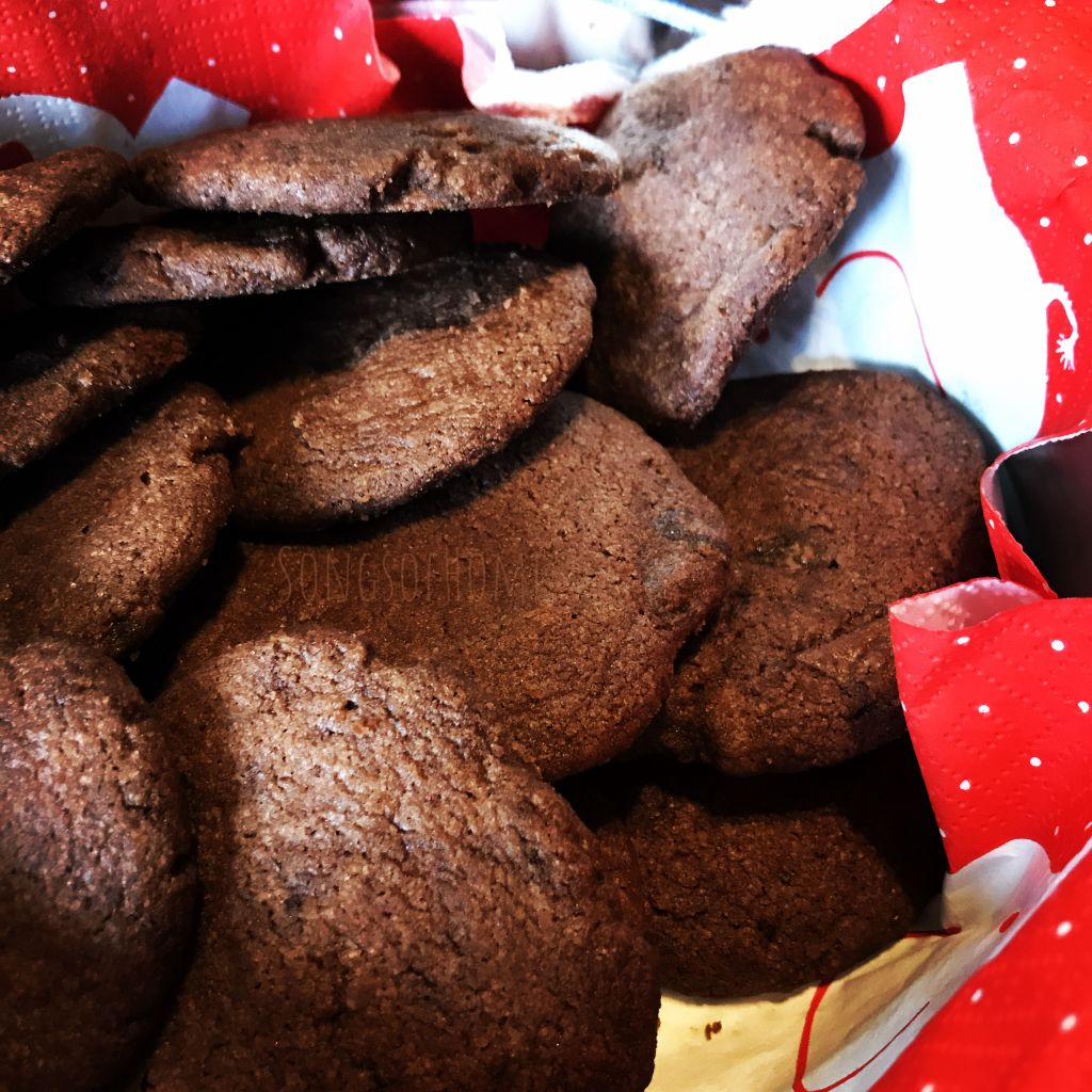 homebaked chocolate cookies